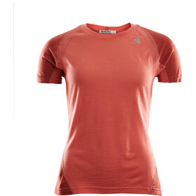 Aclima LightWool T-shirt de sport Femme, burnt sienna/red ochre